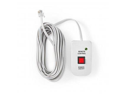 Dálkový ovladač pro měniče napětí Nedis® řady PIMS, délka kabelu 5 m (PIMSRC06WT)