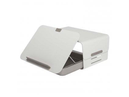 Addit Bento Stand & Toolbox Desk Set 220 20 kg Bílá