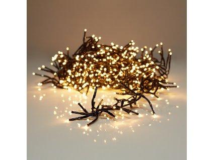 Chytrý vánoční světelný řetěz 576x LED, teplá bílá, venkovní IP44, 230V, 4.2m/7.2 m, S.I.A (AX8718700)