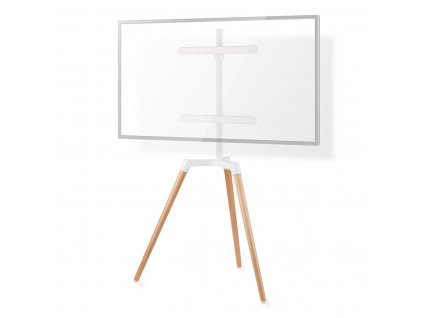 """Nedis TVSM7060WT stojan pro TV, 50 - 65"""", 35 kg, Skandinávský design bílá/buk"""