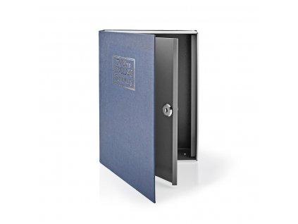 Nedis BOOKSEDL01BU trezor ve tvaru knihy, 2 klíče, 2.8 l