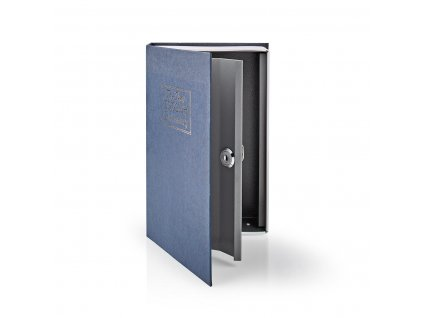 Nedis BOOKSEDM01BU trezor ve tvaru knihy, 2 klíče, 1.6 l