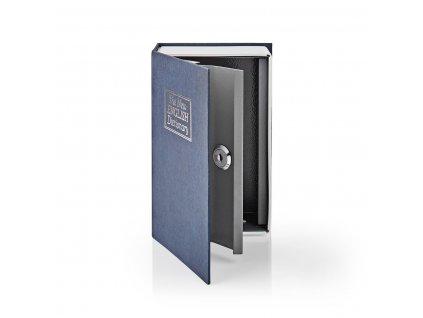 Nedis BOOKSEDS01BU trezor ve tvaru knihy, 2 klíče, 0.86 l