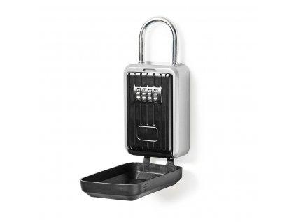 Nedis KEYCCP01BK bezpečnostní schránka na klíče, mechanické heslo, přenosná