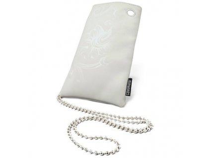 Coverized DECO velká brašna na MP3 / MP4 / PDA / mobilní telefon, šedá