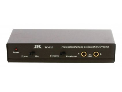 Profi předzesilovač TC720 pro gramofon a mikrofon, PRE AMP-MIC