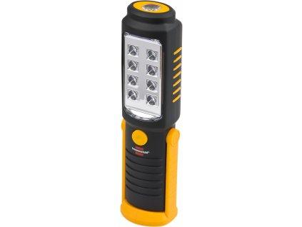 Brennenstuhl 1175410010 8+1 LED akumulátorová ruční svítilna HL DB 81 M1H1 350lm, magnet, klip