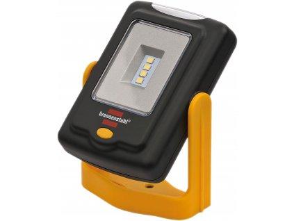Brennenstuhl 1175420010 4+3 LED akumulátorová ruční svítilna 220lm, hák, magnet, klip