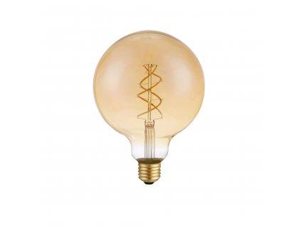 LED's Light LED žárovka vláknová E27 G125 5W 230lm 2200K (LL600476)