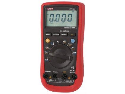 Digitální multimetr TrueRMS UNI-T, UT109