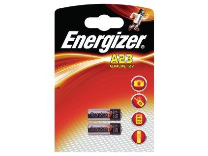 Alkalická baterie Energizer 23A 12 V, 2ks, EN-629564