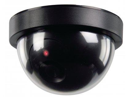 Atrapa interiérové bezpečnostní CCTV DOME kamery König SAS-DUMMYCAM50