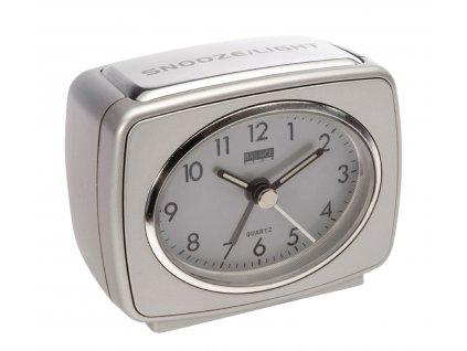 Klasický budík Quartz stříbrný, Balance 262184
