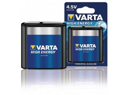 Alkalická baterie Varta High Energy 3LR12 4.5 V, 1ks, VARTA-4912/1