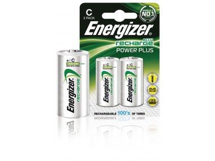 Nabíjecí baterie Energizer NiMH R14 1.2V 2500mAh - 2ks, ENRC2500P2