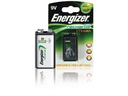 Nabíjecí baterie Energizer NiMH E-Block 9 V 175 mAh 1ks, ENRPP3P1