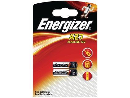 Alkalická baterie Energizer 27A 12 V, 2ks, EN-639333