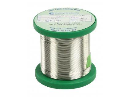 Cínová pájka PBF, Sn99Cu1, 0.75 mm, 250 g, TIND-WM 250NPB