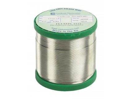 Cínová pájka PBF, Sn99Cu1, 0.75 mm, 500 g, TIND-WM 500NPB