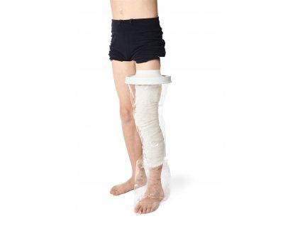 Ochranný sprchovací návlek na dětskou nohu Vitility VIT-70110620