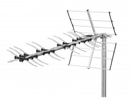 Anténa Triax UHF DVB-T/T2 LTE 800 14.5 dB T105510