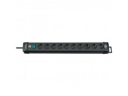 10-násobná prodlužovací lišta, 3 m Premium-Line černá Brennenstuhl BN-1951100100
