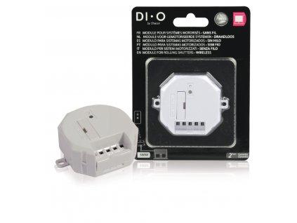Bezdrátový přijímač pro ovládání elektromotorů žaluzií, rolet, markýz a vrat DIO-DOMO41