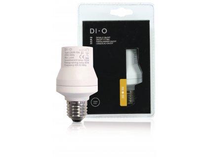 Patice pro žárovku s vestavěným bezdrátovým přijímačem DIO-DOMO42