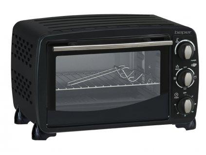 BEPER 90373-V Elektrická horkovzdušná minitrouba, 20l, 1300W