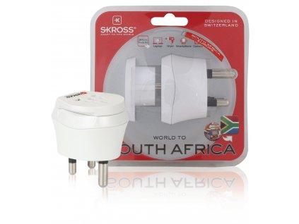 Cestovní adaptér Combo Svět - Jižní Afrika zemněný Skross SKR1500202