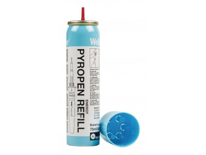 Plyn butan Weller Professional RB-TS, kartuše 75 ml, 51616099