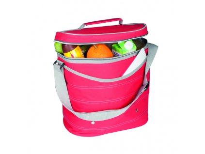 Chladicí taška přes rameno - červená (objem 8.6l)