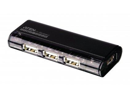 Aten UH284-A externí čtyřportový USB 2.0 HUB s magnetem