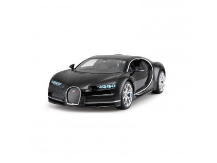 Bugatti Chiron na dálkové ovládání 27 MHz, měřítko 1:14, černý, Jamara JAM-405134