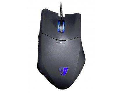 TESORO Thyrsus MMO herní myš / programovatelná / laserová / 8200dpi / 10 tlačítek / RGB / Omron spínače