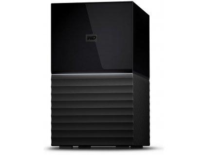 """WD HDD My Book Duo 4TB / Externí 3,5"""" / USB Type-C / černý"""
