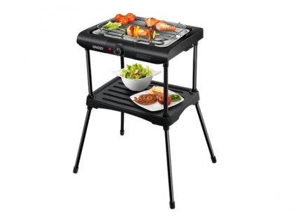 DOMO Garden 58550 Black Rack barbecue elektrický gril