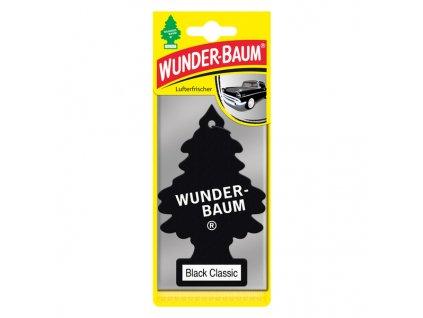 Vonný stromeček do auta Wunder-Baum aroma Black Classic