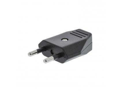 Konektor napájecí síťový 230 V EURO černý (VLEP11810B)