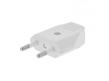 Konektor napájecí síťový 230 V EURO bílý (VLEP11810W)