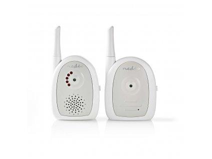 NEDIS BAMO111AUWT dětská audio chůvička 2.4 GHz, digitální