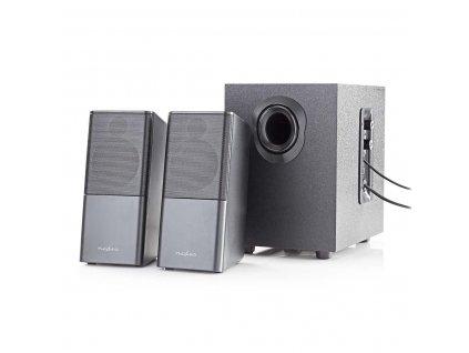 Nedis GSPR10021BK 2.1 herní reproduktory XYALON 33 W, USB, jack 3.5mm