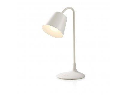 Nedis LTLG3M1WT5 LED stolní lampa / dotykové ovládání / 3 režimy svícení / nabíjecí / 150 lm bílá