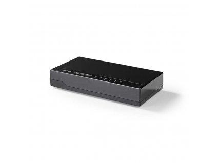 Nedis NSWH5P100BK stolní pětiportový 10/100/1000 MBit switch