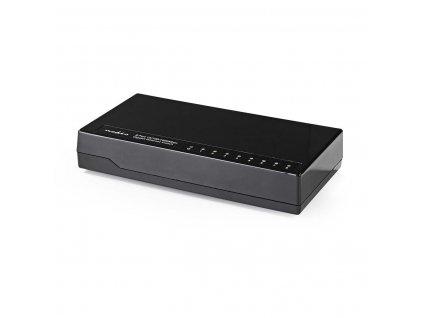Nedis NSWH8P100BK stolní osmiportový 10/100/1000 MBit switch