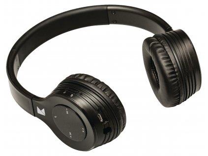 König CSBTHS300BL bluetooth uzavřená bezdrátová sluchátka černá