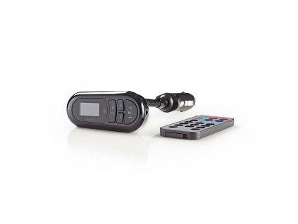 Nedis CATR100BK Bluetooth a FM transmitter, microSD, mikrofon, dálkový ovladač