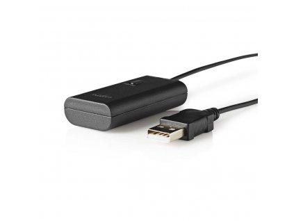 Nedis BTTR100BK bezdrátový Bluetooth®audio vysílač, podpora 2 nezávislých stereo sluchátek
