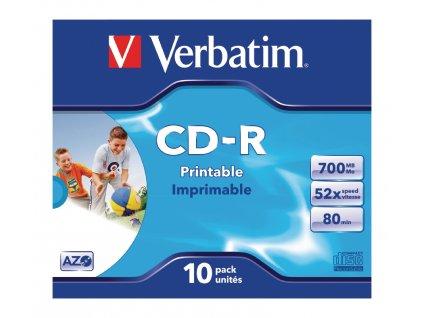 CD 700 MB 10 Kusů