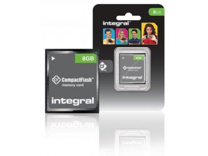 CF (Compact Flash) Paměťová Karta 8 GB